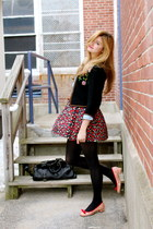 Marc by Marc Jacobs shoes - vintage jacket - Urban Outfitters skirt - Urban Outf