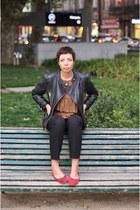 Zara jacket - asos top - Zara pants - Primark flats