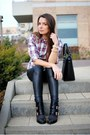 Black-studded-deichmann-boots-puce-sinsay-shirt-black-mango-bag