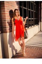 H&M dress - Louis Vuitton bag - Urban Outfitters heels