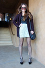 Deep-purple-h-m-coat-black-dkny-bag-dark-gray-tommy-hilfiger-sunglasses