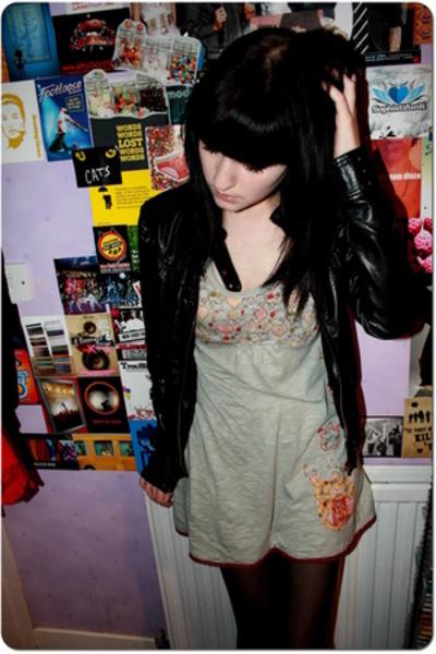 new look - Miss Selfridge dress - coat
