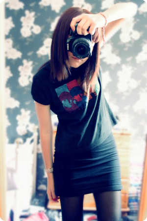 t-shirt - H&amp;M skirt