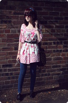 Primark dress - Topshop jeans - Primark shoes - H&M