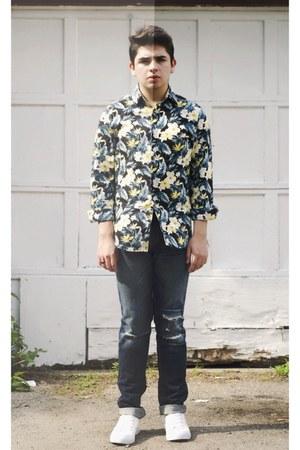 blue  H&M Trend shirt