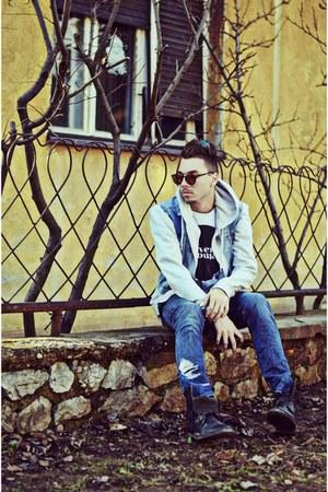 ivory H&M hoodie