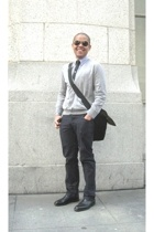 Theory pants - H&M top - Polo Ralph Lauren shirt - H&M tie - Self Made accessori