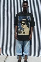 destoryed Levi jeans - eazy e DisciplesOf t-shirt