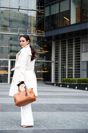 burnt orange barrel bag GiGi New York bag