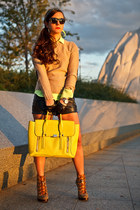 yellow pashli satchel 31 Phillip Lim bag