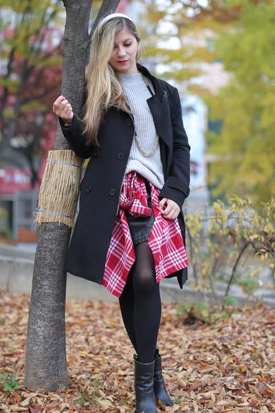 Mixxo coat - cotton H&M sweater