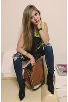 Zara boots - boots - cotton tank none t-shirt