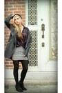 Charcoal-gray-bershka-coat-brick-red-bershka-shirt-black-bershka-skirt
