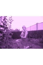 pink vintage cowgirl.
