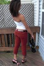 free people pants - Kors by Michael Kors shoes - PacSun belt
