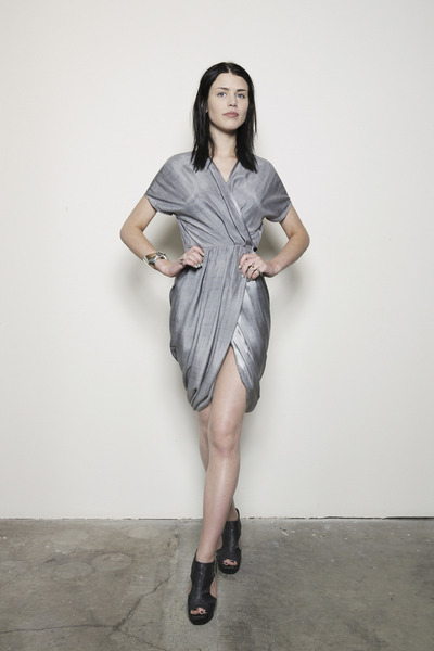silver Hidden Spectrum dress