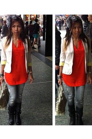 Portman blazer - ICE tights - Gucci bag