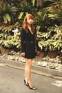 Black-zara-dress-black-chanel-bag-black-chinese-laundry-heels