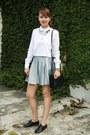 Black-celine-bag-sky-blue-forever-21-skirt-white-zara-top