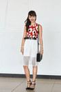 Black-zara-shoes-black-celine-bag-white-carven-skirt-burnt-orange-zara-top