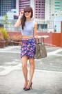 Heather-gray-celine-bag-maroon-zara-skirt