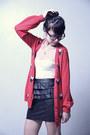 Brick-red-forever21-cardigan-white-forever21-top-black-forever21-skirt-mus