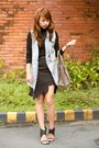 Charcoal-gray-celine-bag-charcoal-gray-taiwan-vest-black-zara-top
