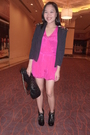 Trunkshow-blazer-topshop-dress-virtualmaemultiplycom-shoes-chanel-purse
