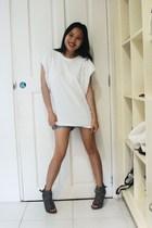white Pink Manila shirt - gray random online
