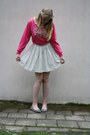 Lace-collar-necklace-skater-jc-skirt-sweatshirt-zippered-dolcis-flats
