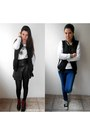 Black-oasap-jacket-black-romwe-skirt