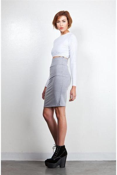 high waisted DORIS skirt