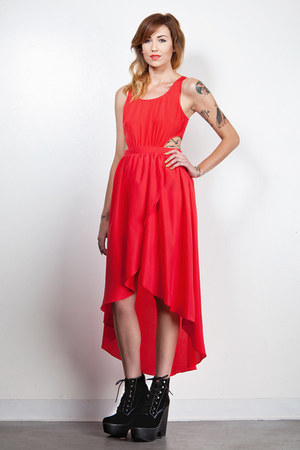 high low DORIS dress