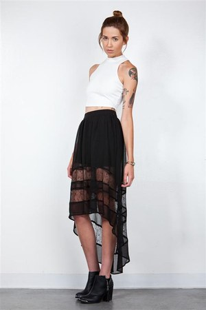 sheer DORIS skirt