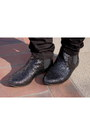 Black-topshop-boots-black-acne-jeans-silver-zara-shirt