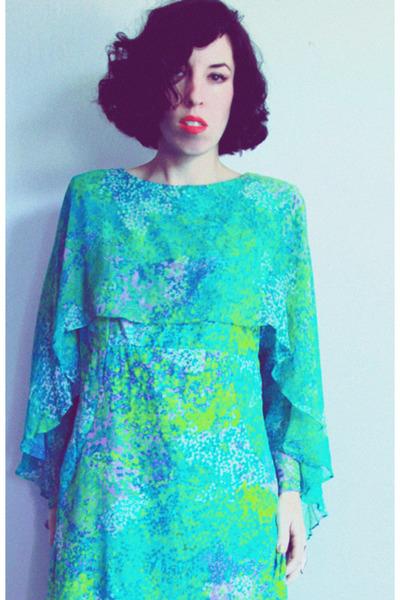 silk chiffon Saks Fifth avenue dress