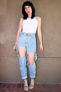 Boyfriend-jeans-vintage-pants