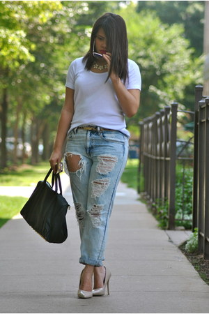 Forever 21 jeans - tommy bahama shirt - Ebay purse