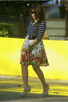 JCPenney skirt - Qupid shoes - Zara blouse
