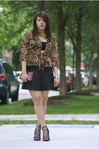 Clothes Envy shoes - coach purse - Forever 21 skirt - gracia fashion top