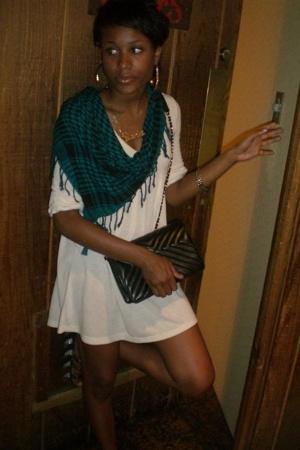 dress - purse
