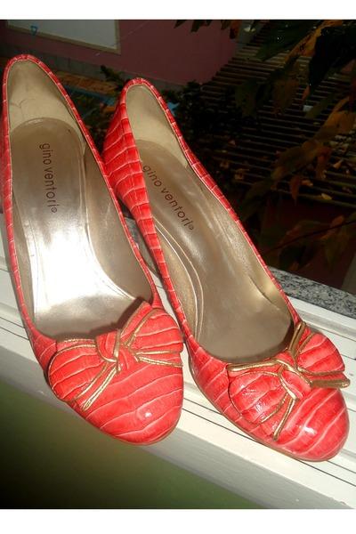 salmon Gino Ventori heels
