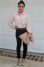 Nude-american-apparel-bag-nude-aldo-heels