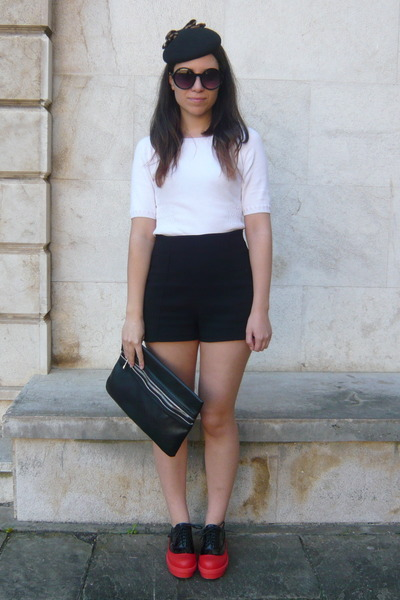 black Zara hair accessory