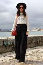 Zara bag - Zara blouse - Zara pants - Zara necklace