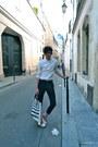 Sandro-shirt-simeon-farrar-bag-marc-by-marc-jacobs-pants