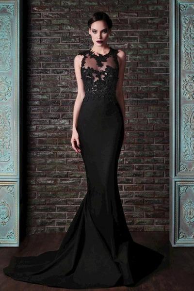 black dress - deep purple dress - blue dress - eggshell dress - navy dress