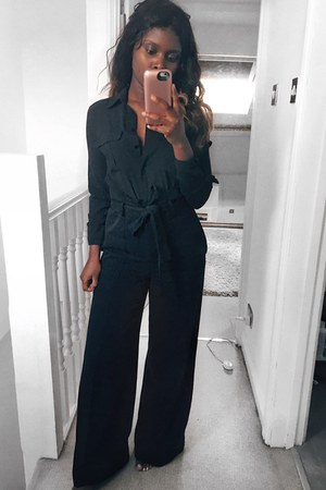 black Primark shirt - black pants