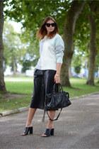 aquamarine M&S jumper