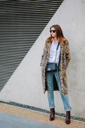 camel Forever 21 coat